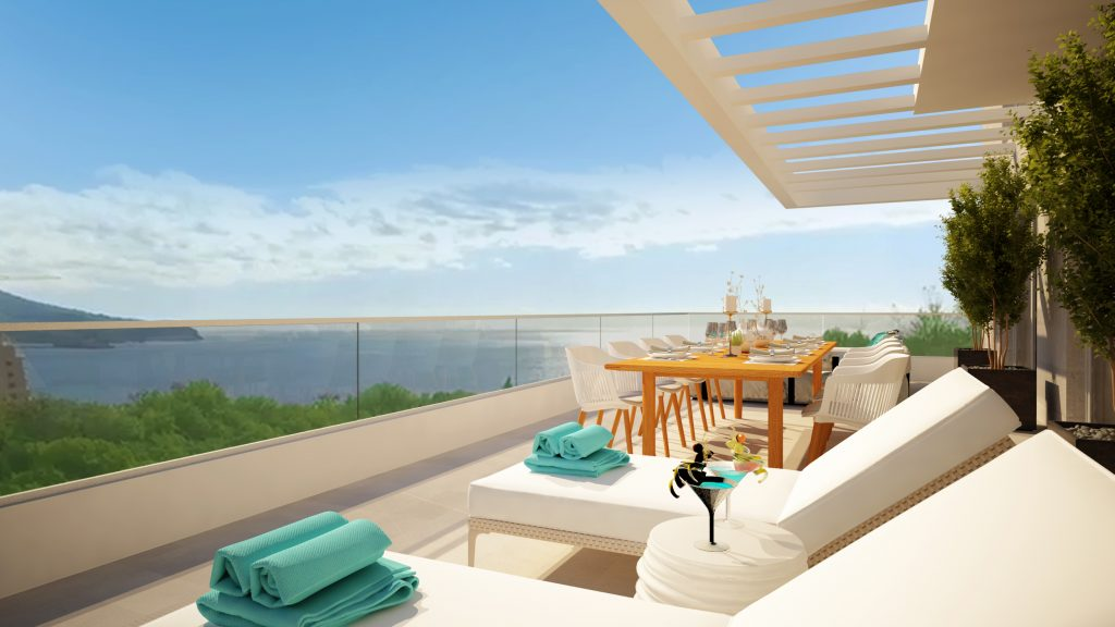 Stunning Sea View Apartments In Beautiful